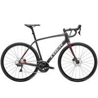 TREK Domane SL 5 Disc 2019 - Dnister Black/Viper Red - 58