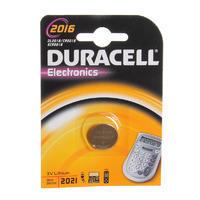 DURACELL Baterie lithium knoflíková 3V - CR 2016 - 1ks