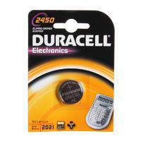 DURACELL Baterie lithium knoflíková 3V - CR 2450 - 1ks