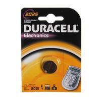 DURACELL Baterie lithium knoflíková 3V - CR 2025 - 1ks
