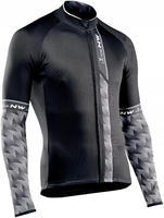 NW Extreme 3 Jersey L/S Black/Grey