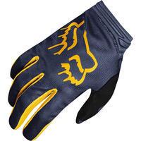 FOX Womens Dirtpaw Mata Glove - Navy/Yellow