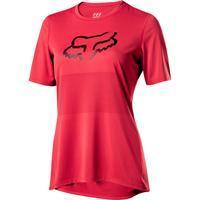 FOX Dámský volný dres Ranger SS Foxhead Jersey - Rio Red