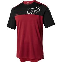 FOX Volný dres Attack Pro SS červený/černý