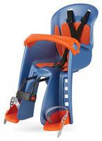 POLISPORT - Dětská sedačka Bilby Junior přední (přední uchycení) - Modro-oranžová