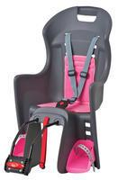 POLISPORT - Dětská sedačka Boodie - Šedo - růžová