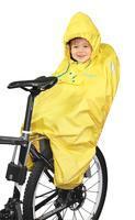 FORCE - poncho na dítě v sedačce žluté