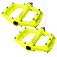 FIREEYE - Pedály s vyměnitelnými piny ROAST - fluo žluté