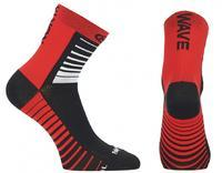 NW Ponožky Sonic Socks Black/Red - M