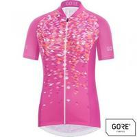 GORE C3 Women Petals Jersey-raspberry rose/coral glow-34/XS