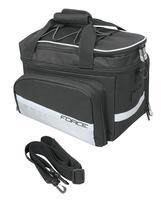FORCE - brašna na zadní nosič velká 20 l, černo-šedá