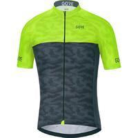 GORE C3 Cameleon Jersey-black/neon yellow-L