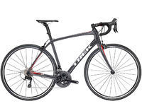 TREK Domane SL 5 2018 - Solid Charcoal/Viper Red 56