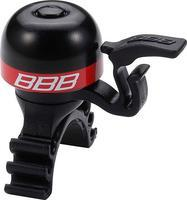 BBB - Mosazný zvonek BBB-16 MiniFit - Červený