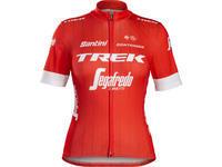 SANTINI Dámský dres Trek-Segafredo Replica červený
