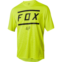 FOX Volný dres Ranger SS Bars Yellow/Black