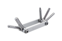 BIRZMAN - Multiklíč Feexman E-version 5 stříbrný