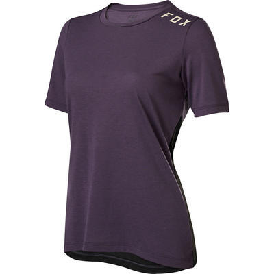 FOX Dámský volný dres Ranger DR SS Jersey - Dark Purple - S - 1