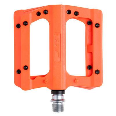 HT - Nylonové pedály s vyměnitelnými piny - oranžové