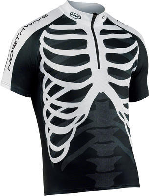 NW Skeleton Jersey Black/White - 1