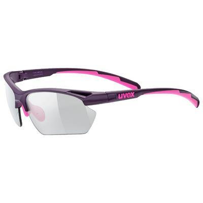 UVEX Brýle Sportstyle 802 Small Vario Purple pink mat/Smoke S1-3 (3301)