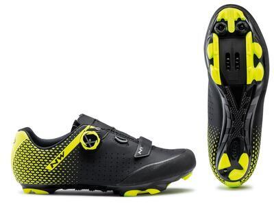 NW Origin Plus 2 Black/Yellow Fluo - 43