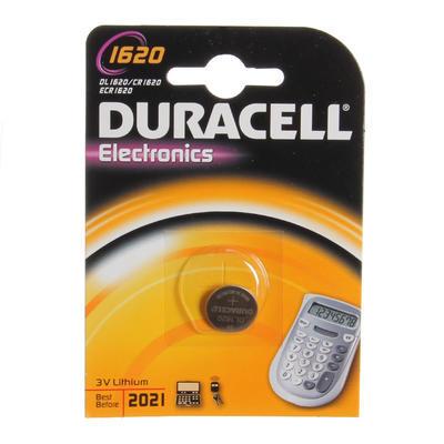 DURACELL Baterie lithium knoflíková 3V - CR 1620 - 1ks