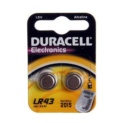 DURACELL Baterie alkalická knoflíková 1,5V - 12GA/LR43 - 1ks