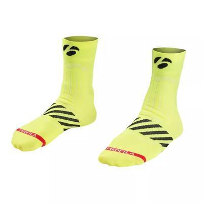BONTRAGER Ponožky Velocis Quarter Yellow S (37-39)