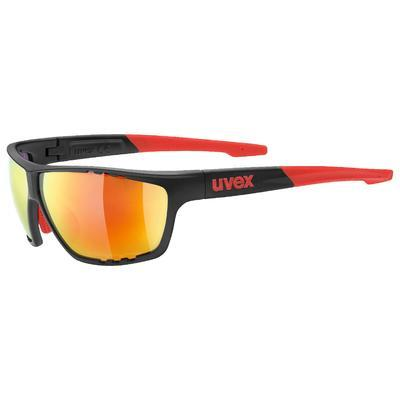 UVEX Brýle Sportstyle 706 Anthracite mat Red/Mirror Red S3 (2313)