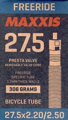 """MAXXIS duše 27.5"""" 2,2-2,5 Freeride - galuskový ventilek"""