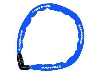 TRELOCK - Zámek řetězový BC 115/110/4 CODE modrý