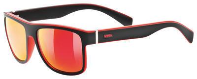UVEX Brýle LGL 21 Black mat red/Mirror red S3 (2213)