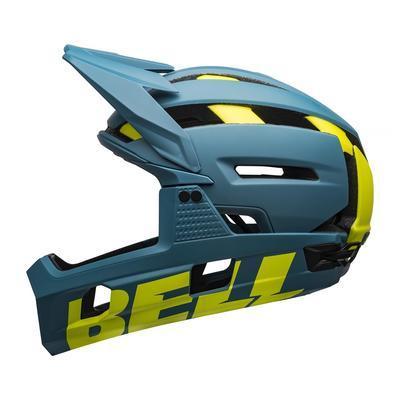 BELL Super Air R MIPS Mat/Glos Blue/Hi-Viz M - 1