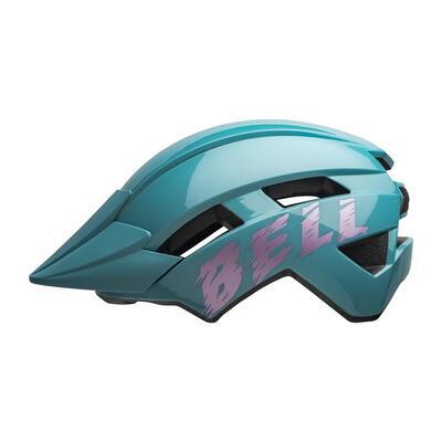 BELL Sidetrack II Youth Light Blue/Pink - 1