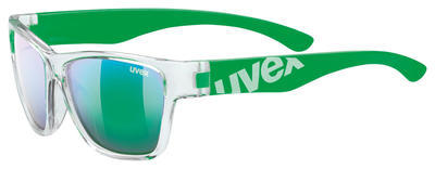 UVEX Brýle Sportstyle 508 Clear green/Mirror green S3 (9716)