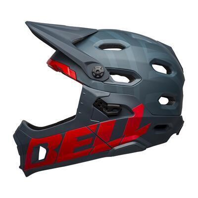 BELL Super DH Spherical Mat Blue/Crimson M - 1