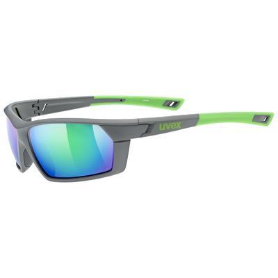 UVEX Brýle Sportstyle 225 Grey Green mat/Mirror Green S3 (8816)