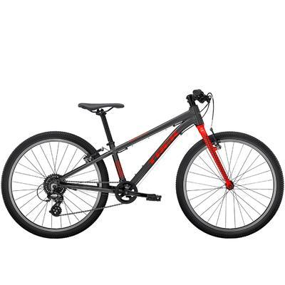 "TREK Wahoo 24 - Lithium Grey/Radioactive Red (24"")"