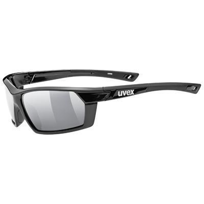 UVEX Brýle Sportstyle 225 Pola Black/Silver S3 (2250)