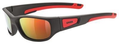 UVEX Brýle Sportstyle 506 Black mat red/Mirror red S3 (2316)