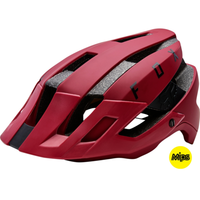 FOX Flux MIPS Helmet Dark Red - S-M - 1
