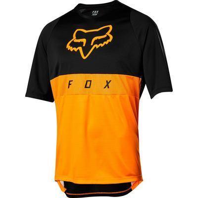 FOX Volný dres Defend SS Moth Jersey - Atomic Orange - 1