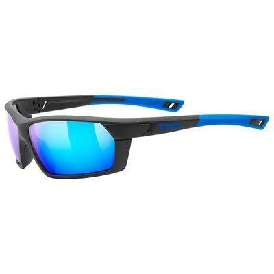 UVEX Brýle Sportstyle 225 Black Blue mat/Mirror Blue S3 (2416)
