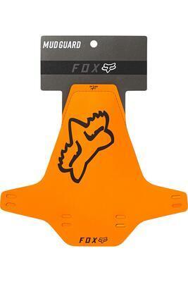 FOX Mud Guard Black - přední blatník - oranžový/černý