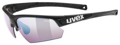 UVEX Brýle Sportstyle 224 CV Black mat/ColorVision Blue S2 (2296)