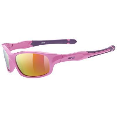 UVEX Brýle Sportstyle 507 Pink Purple/Mirror pink S3 (6616)