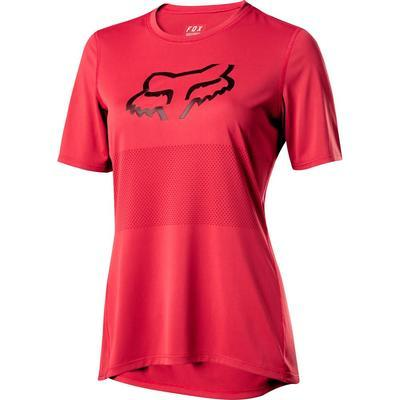 FOX Dámský volný dres Ranger SS Foxhead Jersey - Rio Red - 1