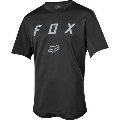 FOX Volný dres Flexair SS Moth Jersey - Black - L - 1