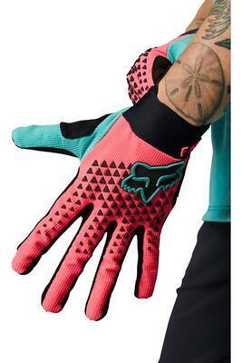 FOX Womens Defend Glove - Pink - M, M - 1